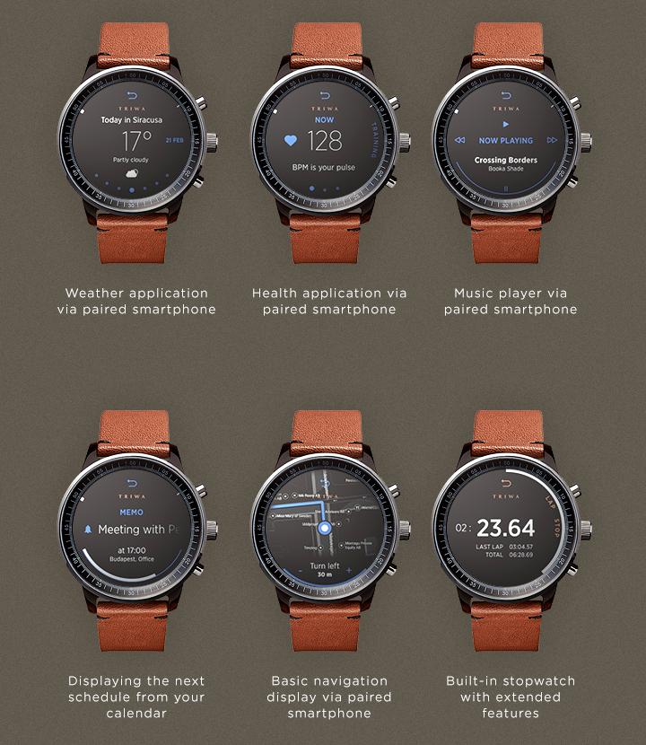 Elegantes Smartwatch Konzept