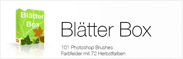 Blaetter-Banner