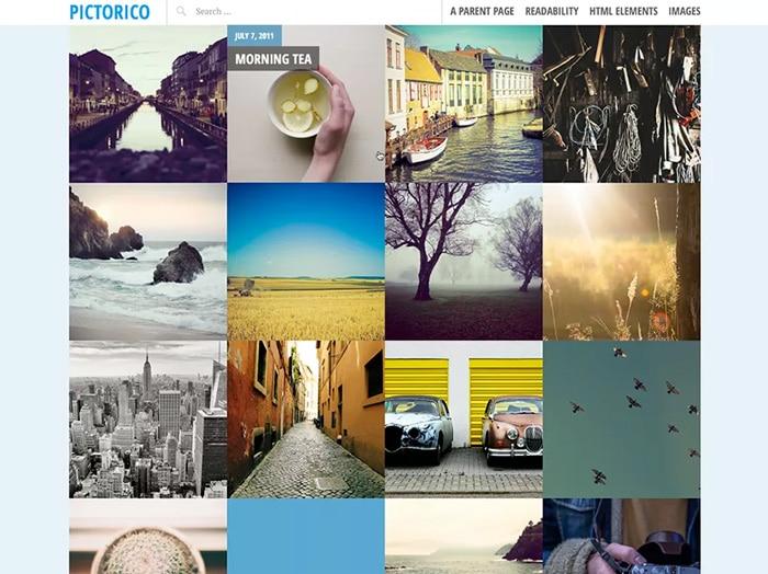 13 Kostenlose Wordpress Themes Fur Fotografen Und Foodblogger