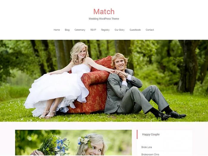 Bild: Screenshot Match von DoveThemes