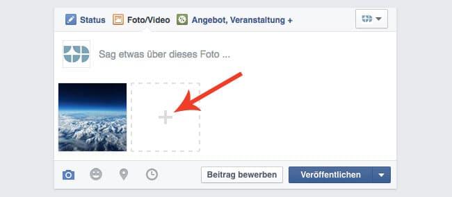 Facebook Posting Fotogalerie