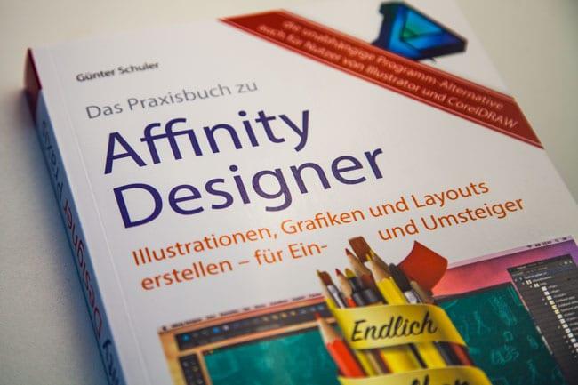 Affinity Designer Praxisbuch Cover Titel