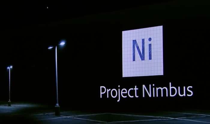 Adobe Project Nimbus Logo
