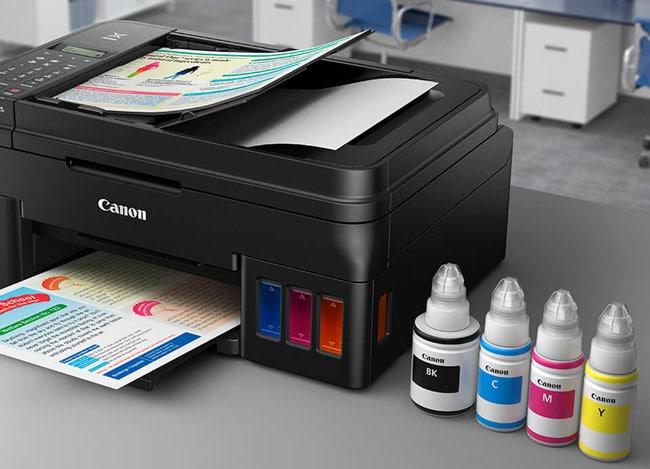 Canon PIXMA G-Serie wiederbefüllbarer Drucker
