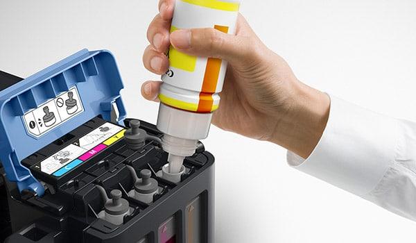 Canon PIXMA G-Serie Drucker mit Tinte befüllen