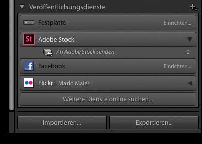 Lightroom Adobe Stock veröffentlichen