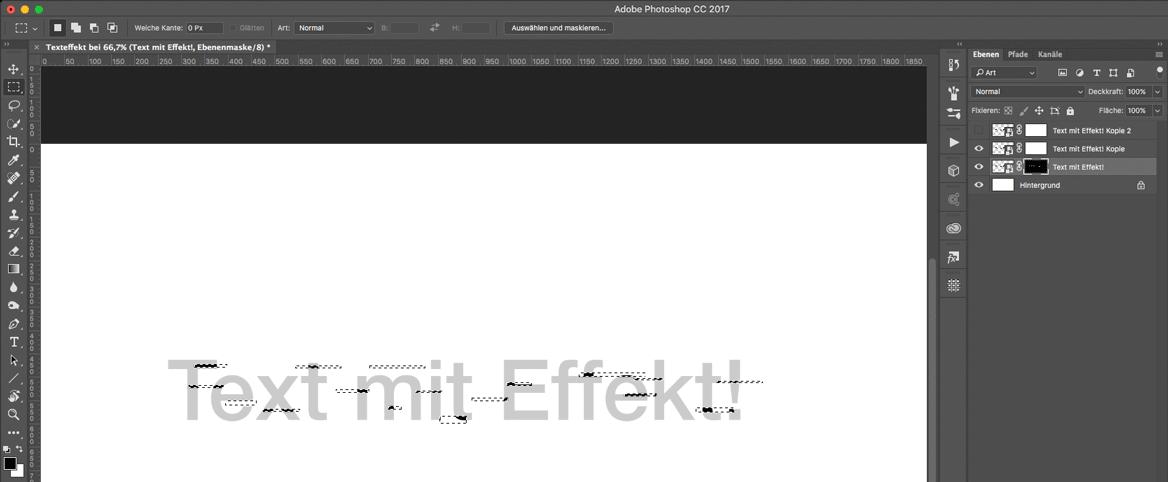 Watch Dogs 2 Text Effekt in Photoshop