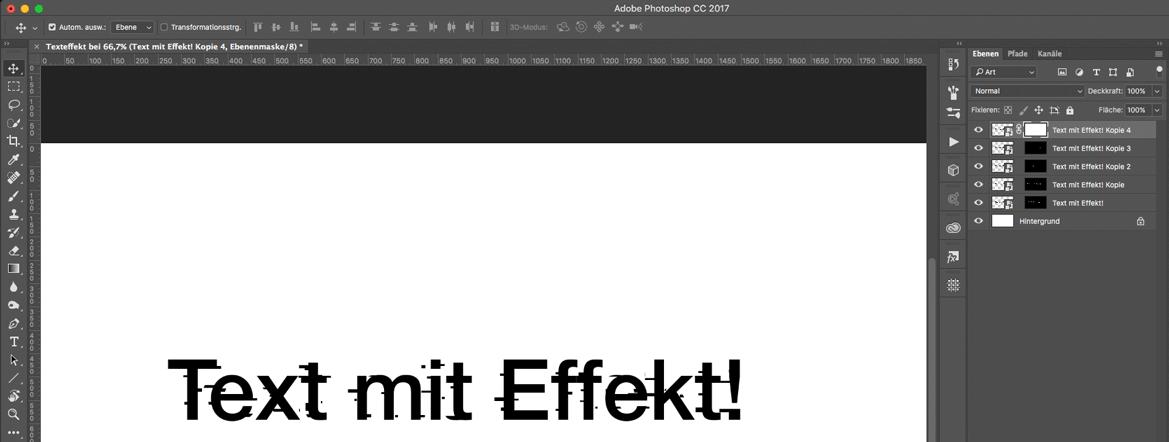 Watch Dogs 2 Text Effekt in Photoshop Auswahlen kombinieren