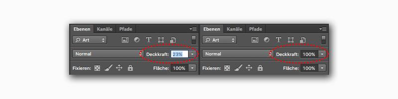 Photoshop Tricks mit der Shift- und der Alt-Taste