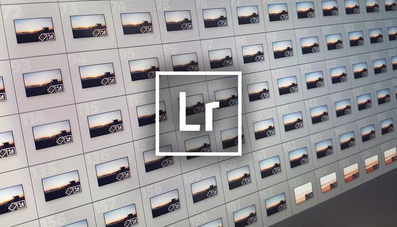 Lightroom Bilderflut schnell sortieren