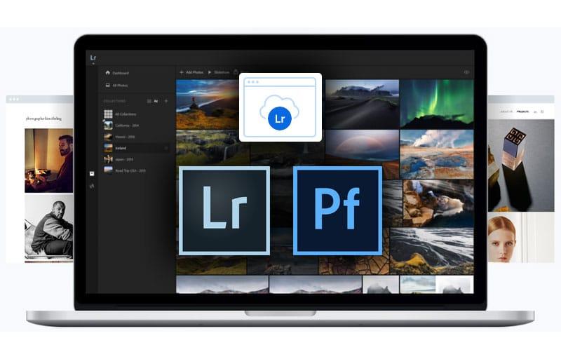 Adobe Portfolio mit Lightroom Integration