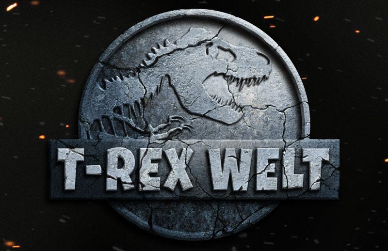 Jurassic World Photoshop Tutorial Logo