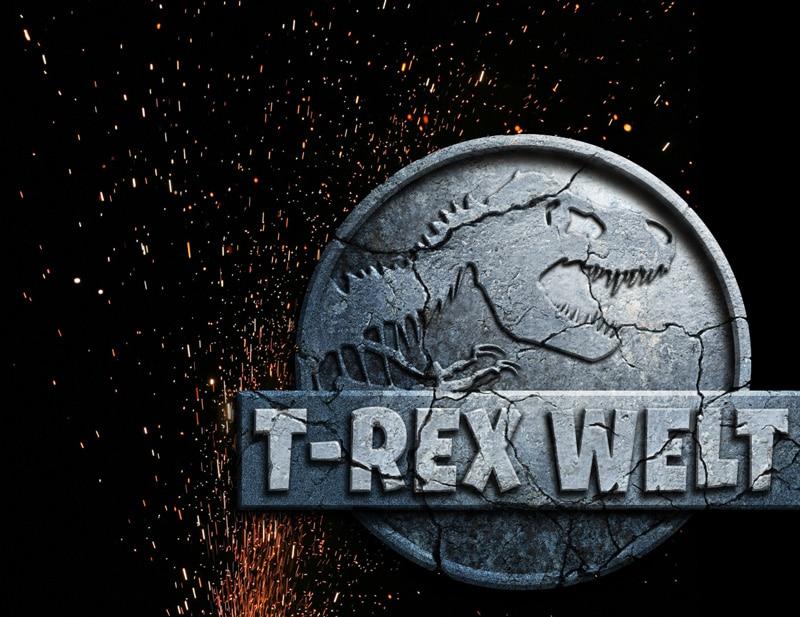 Jurassic World Photoshop Tutorial glühende Funken