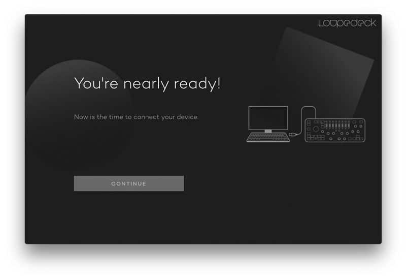 Loupedeck Software Verbindung