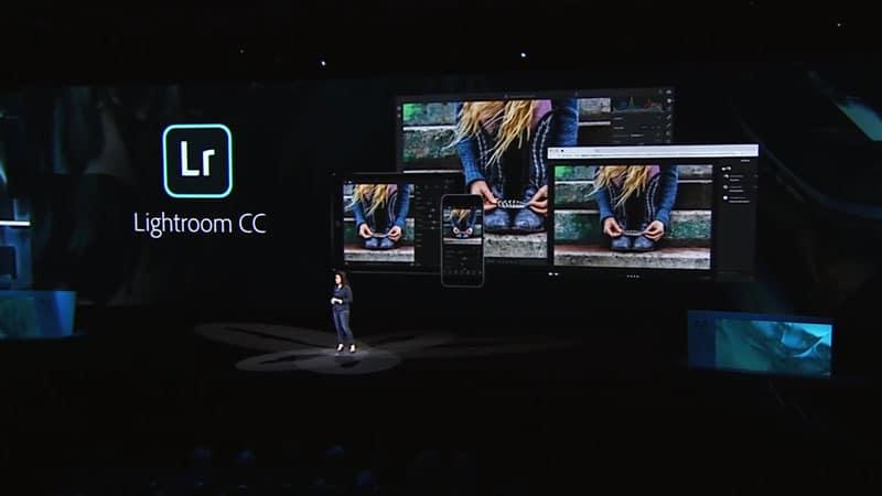 Lightroom CC Vorstellung auf der Adobe MAX 2017
