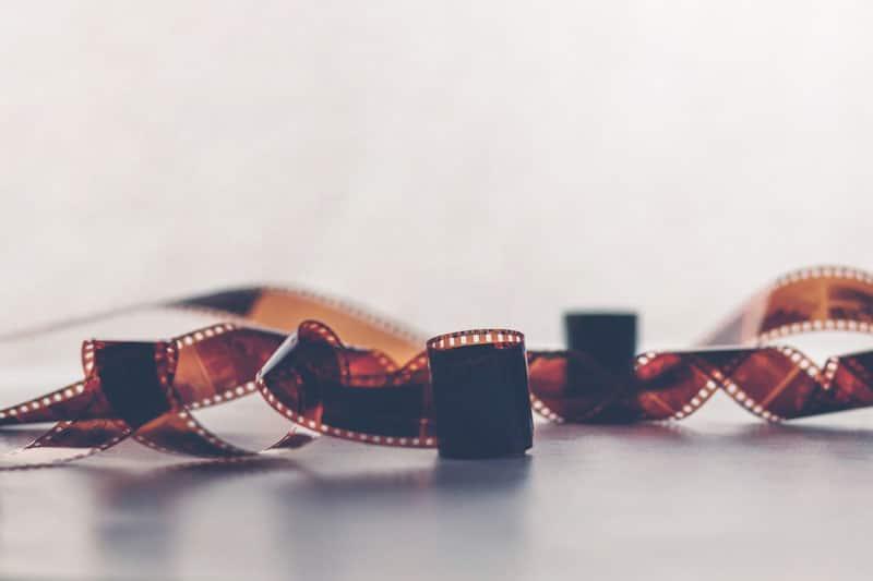 Analoge Fotografie Filmrolle